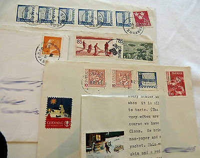 Collection Vintage used stamps. Sweden. Charity Sale