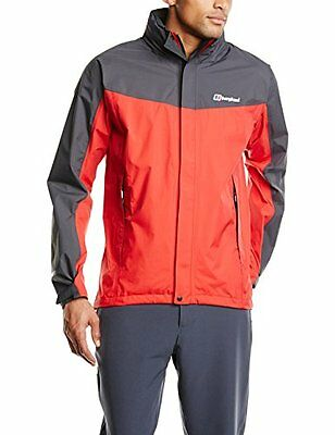 Berghaus, Giacca softshell in Gore-Tex Uomo Paclite III, Rosso (Rot), XXL