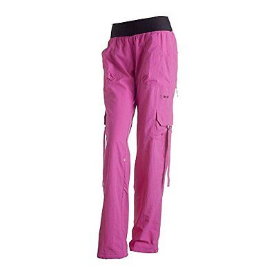 Zumba Fitness Pantaloni Donna Simply Shine Cargo Pants, Rosso (berry), XL