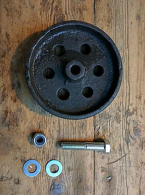 "Industrial 5"" swivel castor cast iron caster wheel for Industrial furniture"