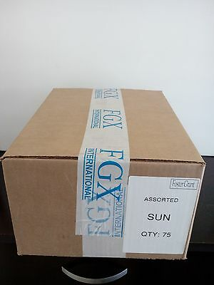 150 Sunglasses 2 boxes of 75, Foster Grant Distributed, Lot Bulk Wholesale