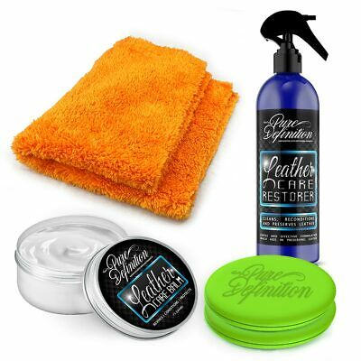 Leather Protection & Cleaner Kit | Quality Car Care Detailing  Pure Definition ®