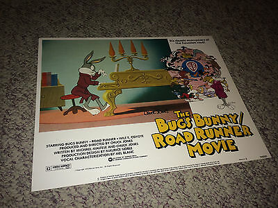 BUGS BUNNY MOVIE Lobby Card Poster 1979 Warner Brothers Animation at Piano #5