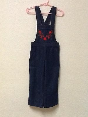RARE Vintage Girls Jean Jumpsuit Outfit by Sears Size 4 S Small EUC USA Seller