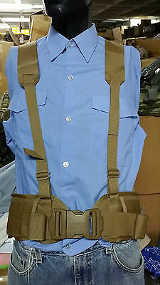 USMC sub-belt with suspenders size large, brand NEW!!