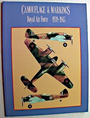 CAMOUFLAGE & MARKINGS ROYAL AIR FORCE 1939-45 Argus Books 1992 Mike Reynolds