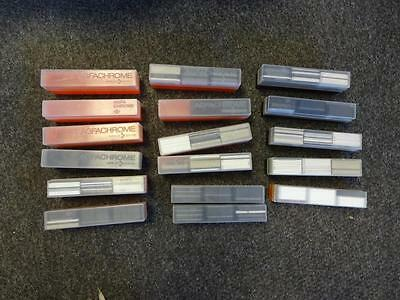 17 Slide Storage Boxes Agfa Chrome & 534 Slide