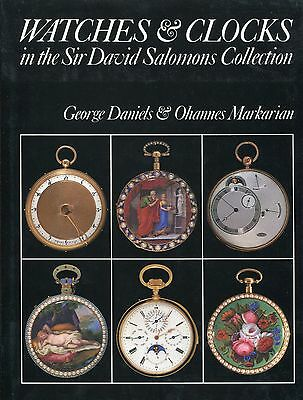 Watches And Clocks In The Sir David Salomons Collection- Book- George Daniels