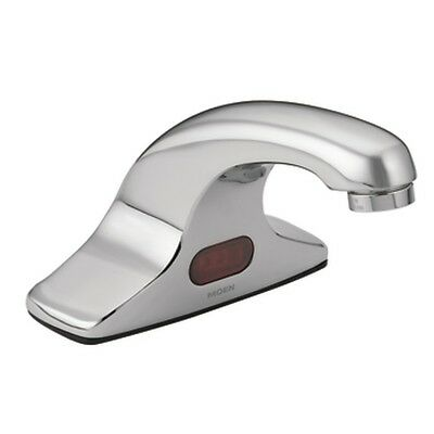 Moen 8301 M Touchless Handle Commercial Bathroom Faucet Chrome