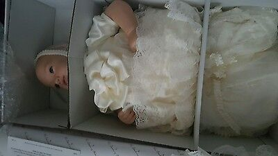 royal baby christening doll prince George new in box