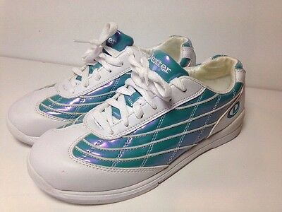 Dexter Ladies White Bowling Shoes / Trainers Uk Size 5