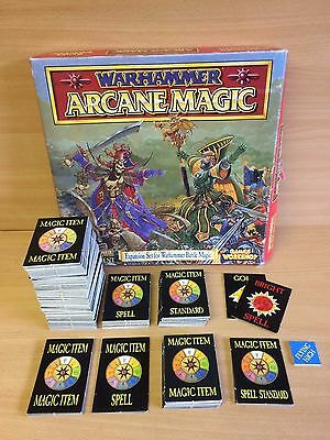 Warhammer Arcane Magic Expansion Set Incomplete Set All Parts Listed