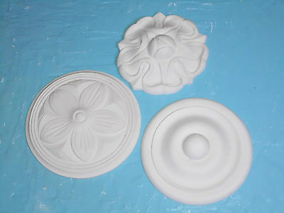 Plaster ceiling roses - New - Hand Made.