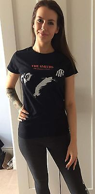The Smiths - The Queen Is Dead -  (Female) Black 100% Cotton T-Shirt