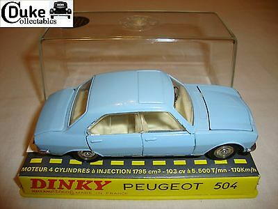 FRECH DINKY 1415 PEUGEOT 504 - EXCELLENT in original BOX - RARE