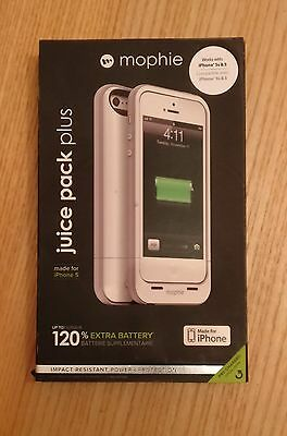 Barely used  I-phone 5/5S Mophie 120% extra Battery Life