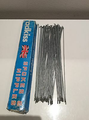"""Bradkiss Bicycle Spokes (only) (70): 14G x 11 1/8"""":"""
