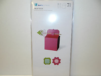 Treat Box Die Set Treats Gifts Scrapbook Lifestyle Crafts Paper Crafting