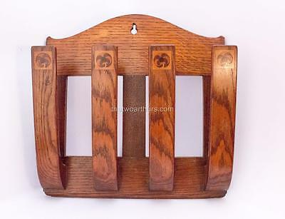 Oak Letter Rack/Magazine/Newspaper Holder Arthur Simpson Kendal Arts and Crafts