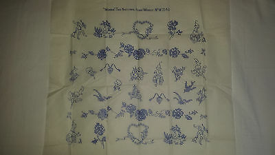 Vintage Embroidery Transfer Pattern 'Woman Weekly No 354.B