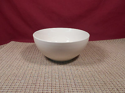 "Thomson Pottery Quadro White Pattern Cereal Bowl 6"" x 2 7/8"""