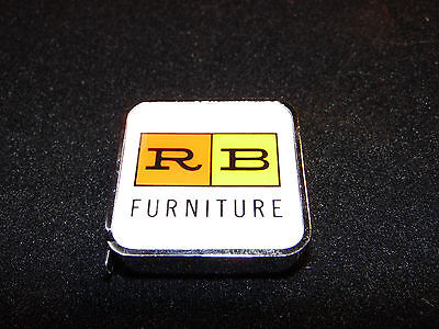 New Vintage in Box R&B Furniture Purse Sized Small Measuring Tape - Barlow