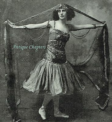 Anna Pavlova 1917 Herman Mishkin Photo Article A609