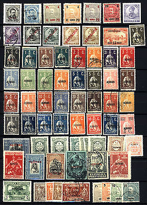 Portugal Azores + Angra 1882-1925, Album Clearout Collection Mint Hinged & Used