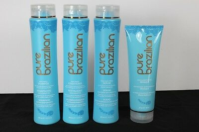 Pure Brazilian Shampoo, Conditioner,  Masque  & Serum FREE SHIPPING!