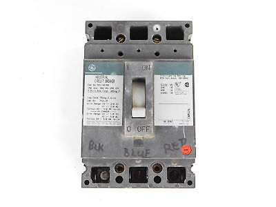 General Electric 3-Pole, 150 Amp, 480V Circuit Breaker TED134150 - NEW Surplus!