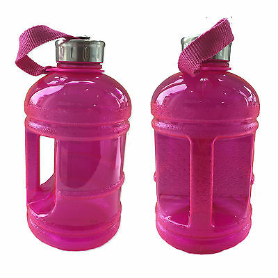 Pink Half Gallon 1.89 litre Sports Gym Water Bottle