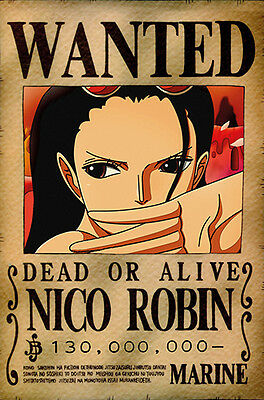 One Piece WANTED Poster (26 x 40 cm) - NICO ROBIN – Last Bounty!