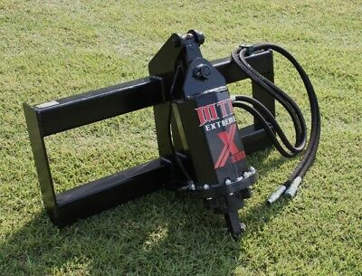MTL Attachments Extreme Skid Steer Auger-Direct Drive w/Palnetary Gear-Ship Free