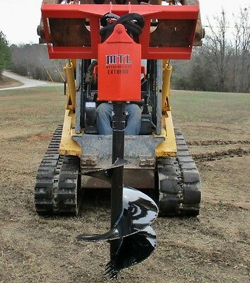 "MTL Attachments Extreme Skid Steer Auger-Direct Drive w/12"" Bit-Ship 149"
