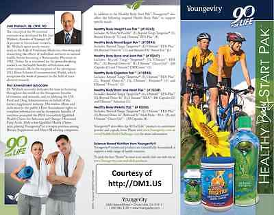 Youngevity Healthy Body Pak Choose Original/ 2.0 or Tablets by Dr Wallach