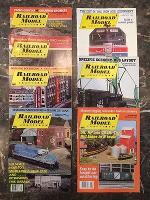 Railroad Model Craftsman - Lot of 7 Issues!