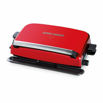 George Foreman GRP10 Convertable Easy To Clean Grill