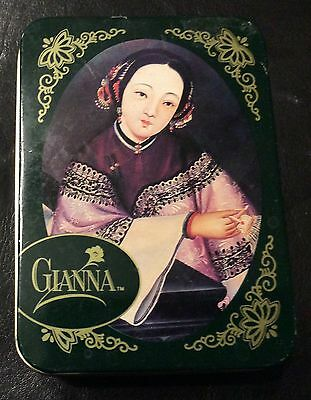 vintage gianna tea tin