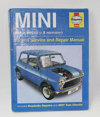 Haynes 0646 Mini 1969 to 2001 (up to X registration)