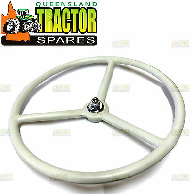 David Brown Tractor Steering Wheel Original Style and Colour with Nut and Washer