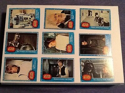 Star Wars Topps 1977 Series 1 Complete Set (1-66)