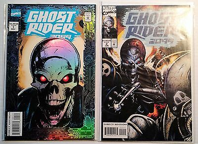 Ghost Rider 2099 #1-2 (1994) NM Foil Cover