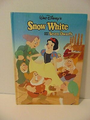 Snow White and the Seven Dwarfs Walt Disney Classic Series Mouse Works Hardcover
