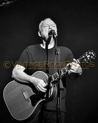 David Gilmour Photo 8x10 inch 2016 MSG NYC NY Rattle That Lock Concert Tour 90b