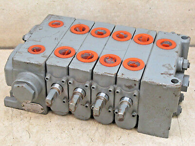 Commercial Shearing,  4 Spool Hydraulic Valve,  356-9204-025 / Pb1288