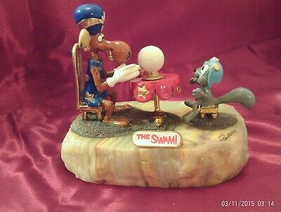 RON LEE THE SWAMI FIGURINE, Signed with COA #300/1750 - RARE!