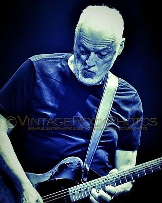 David Gilmour Photo 8x12 inch 2016 Concert Tour Ltd Edition Art Design Print 186