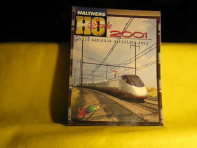 Walthers HO Scale 2001 Model Train Reference Catalog used