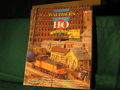 Walthers HO Scale 1994 Model Train Catalog used
