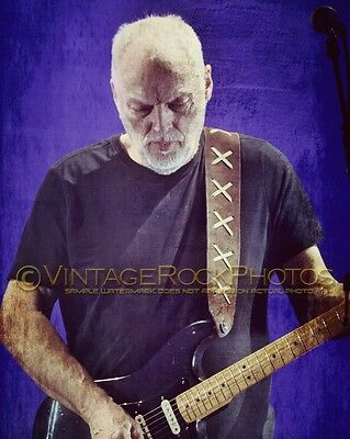 David Gilmour Photo 8x10 inch 2016 Concert Tour Ltd Edition Art Design Print 192
